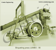cosmic engineering - briquetting press