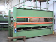 Press with 2 rooms from 1300x3500mm