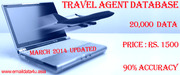 City Wise All India Travel Agents & Tour Operators Database