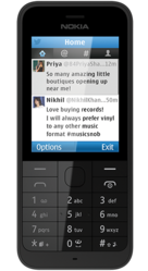 Nokia 220 Black  (Silver-66747)