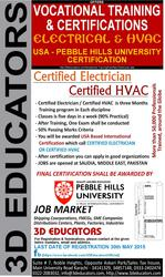Electrical & HVAC Training & Certifications
