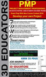 PMP Training Course in Karachi
