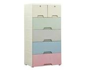 Fiona Kid's Three Door Wardrobe In English Pink Finish By Adona