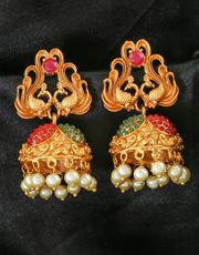 Buy Wonderful Collection of Jhumka Design From Anuradha Art Jewellery.